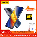 POCO X3 Pro глобальная Версия 8 ГБ + 256 Гб Смартфон Xiaomi Snapdragon 860 120 Гц DotDisplay 5160 мА/ч, 33 Вт NFC зарядка Quad камера AI