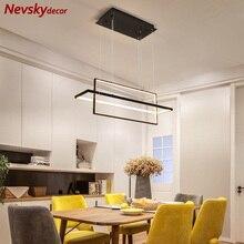 Gold pendant lamp dining modern led pendant light living roo