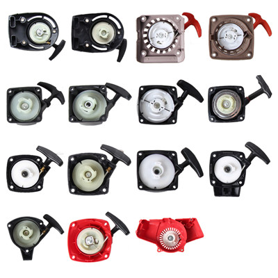 Recoil Rewind Starter Cover For Chinese Mitsubishi Hedge Trimmer Sprayer Brush Cutter Pump Lawn Mower Pawl Pulley Spare Parts