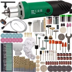 Image 1 - 30000 t/mn 480W perceuse électrique Mini graveur avec 6 vitesse Variable pour Dremel métallisation perceuse polissage 110V/220V