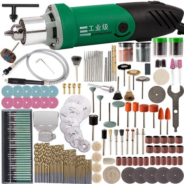 30000 t/mn 480W perceuse électrique Mini graveur avec 6 vitesse Variable pour Dremel métallisation perceuse polissage 110V/220V