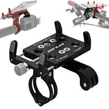 Mountain Bikes Phone Holder Mount Adapter for Gopro 9 60-100mm Aluminum Alloy Alloy