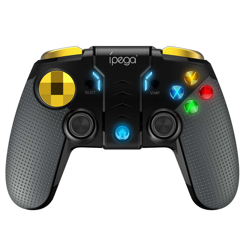 Ipega Pg-9118 Smart Bluetooth Game Controller Gamepad Wireless Joystick Console Game With Telescopic Holder For Smart Tv/ Phone/