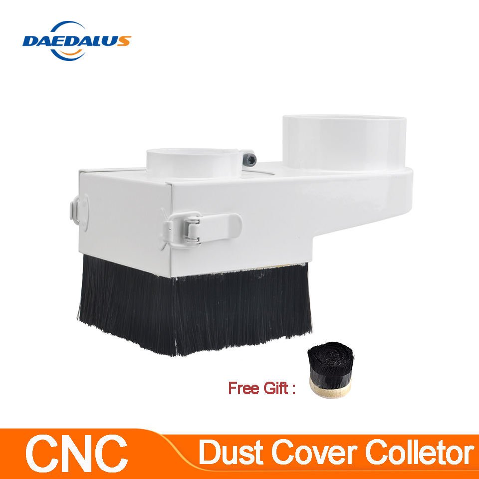 80mm/85mm/65mm Diameter Dust Collector Dust Cover Brush For CNC Spindle Motor Milling Machine Router Woodworking Tools