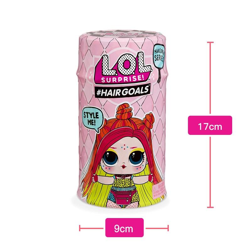 LOL Original SURPIRSE Dolls HAIR GOALS 5th Generation No Original Box Magic DIY Random Lol Dolls Figure Model Girl's Toy Gift