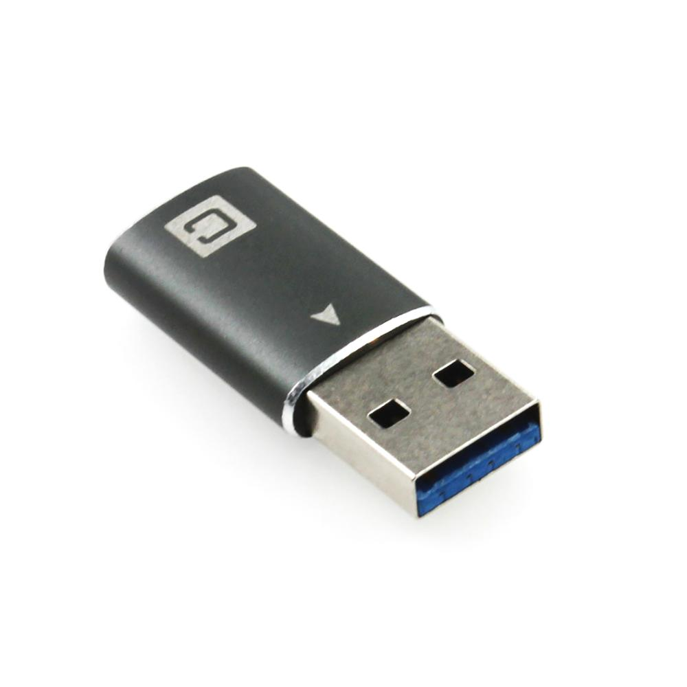 Aluminum Shell Converter TYPE-C 10G USB3.1 GEN2 TYPE-C TO USB3 Adapter For Male Data Cable Device