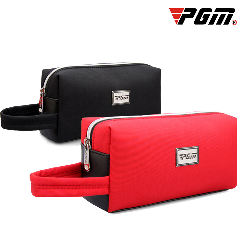 PGM Golf Pouch Bag Handbag Waterproof Zipper Mini Golf Bag Cell Phone Pouch Makeup Cosmetic Bag For Men Women