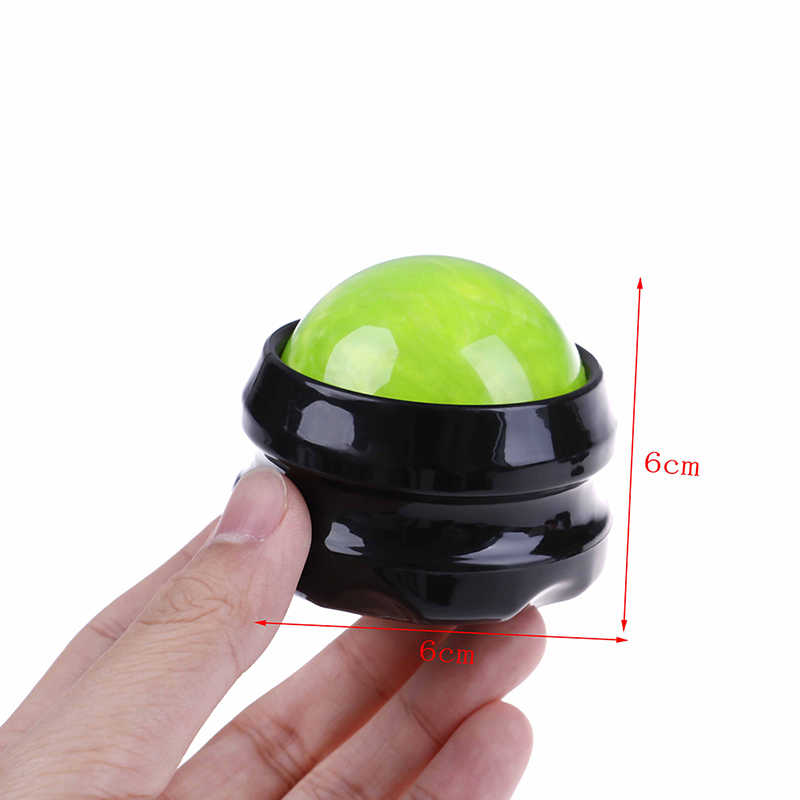 Colorful Roller Ball Massager Body Stress Release Muscle Relaxation Therapy Massage Foot Hip Back Relaxer Roller Ball Massager