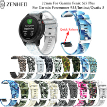 22mm Quick Release strap For Garmin Fenix 5/5 Plus wristband For Garmin Forerunner 935/Instinct/Quatix 5 smart watch bracelet