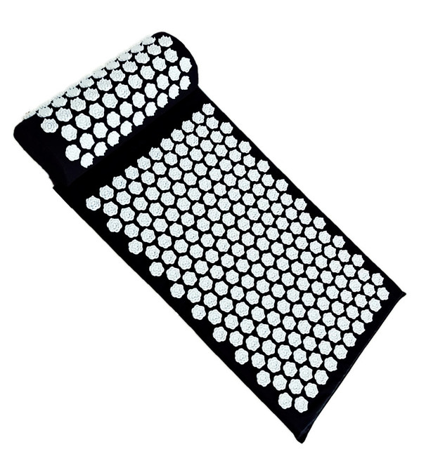 Massager Cushion Acupuncture Sets Relieve Stress Back Pain Acupressure Mat with Pillow Massage Mat Lotus Spike  Relaxation