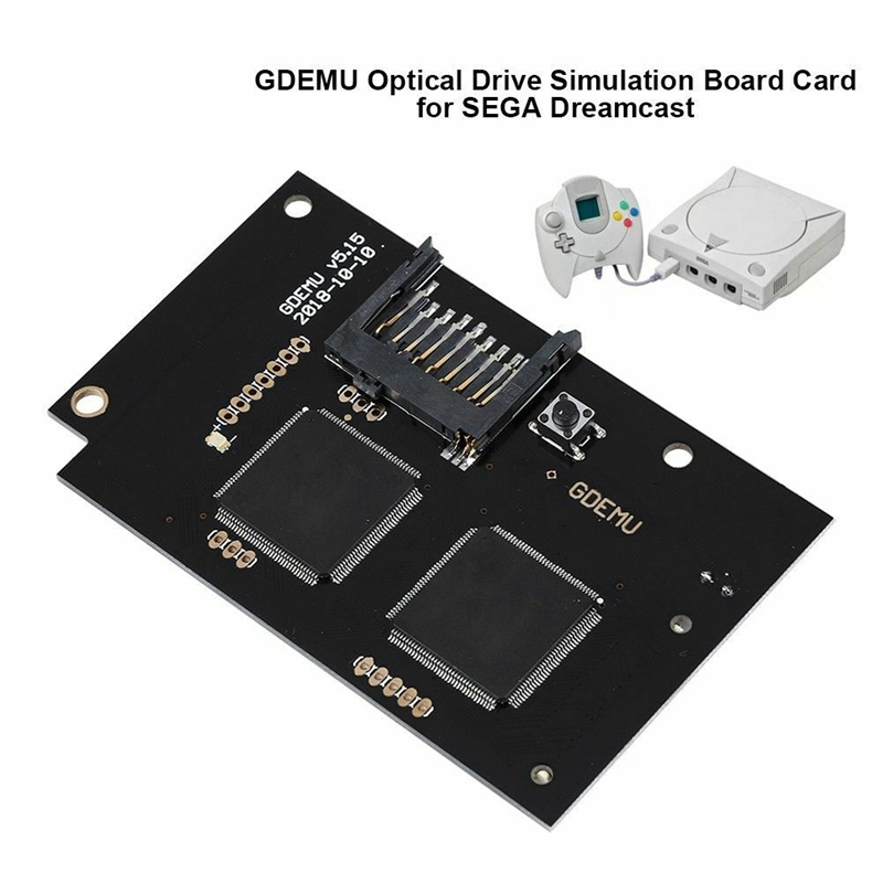 ABKT-Optical Drive Simulation Board for DC Game Machine 5.15 Free Disk Replacement for Dreamcast VA1 Full New GDEMU Game image