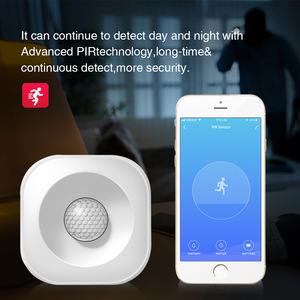 Image 4 - WIFI PIR Motion Sensor Wireless Infrared Detector Security Burglar Alarm Sensor Tuya APP Control  Smart Home