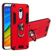 Con Anello kickstand armatura Cassa Del Telefono Per Xiaomi Redmi Nota 4 4X 5 6 7 7S 9 10 CC9 CC9E Y3 A3 5A Prime 6A 9T K20 Plus Pro Copertura
