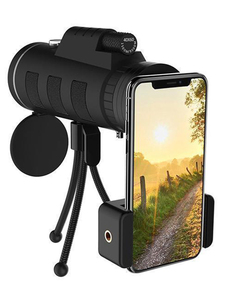 Image 5 - Monocular Zoom phone lens Smartphone Telescope Camera lenses Mobile lens Phone For Iphone 11 8 7 Plus macro lens phone