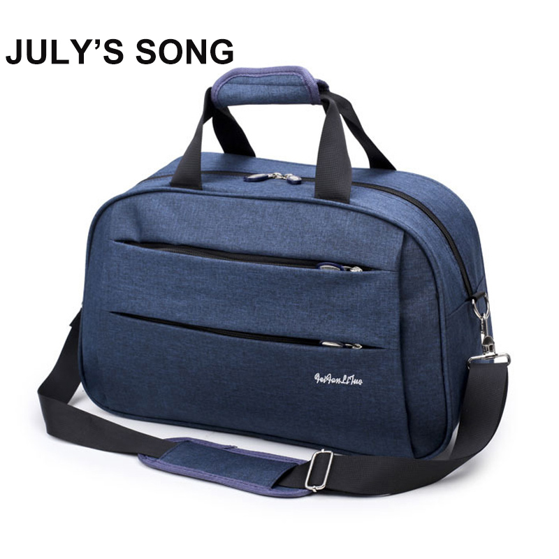 JULY'S SONG Travel Business Bag Portable Big Capacity Luggage Suitcase Outdoor Plane Storage Organizer Men Women Use