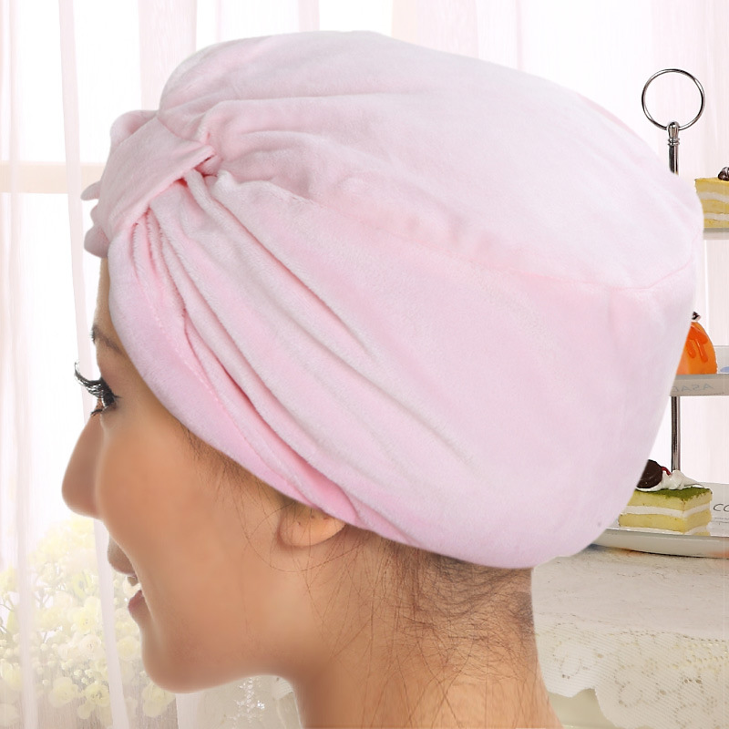 Processing Recruit Confinement Cap Autumn & Winter Thick Soft Velvet Maternal Hat Headscarf