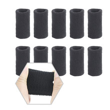 10 sztuk Finger pokrywy ochronne koszykówka Sport rozciągliwe artrozy zespoły