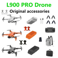 L900 Pro Drone oryginalne akcesoria bateria 7.4V 2200mAh śmigło Maple Leaf/kabel USB zastosowanie do L900 drony części zamienne