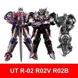 Unique Toys Transformaton UT R-02 R-02B R02 R-02V OP Commander MPM Knight Warrior Action Figure Robot Toys(China)