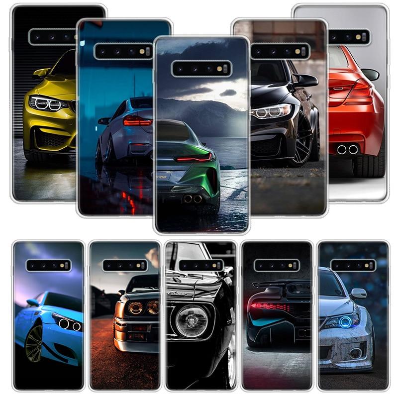 Blue White Black For BMW Case For Samsung Galaxy S10 S20 Ultra Lite NOTE 10 9 8 S9 S8 + S7 Edge J4 J6 J8 2018 Plus Phone Coque