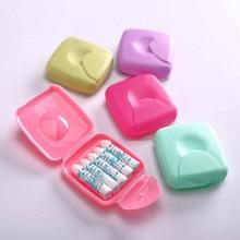 1PCS 3PCS Tampon Storage Box Sanitary Napkin Girls Woman Lady  Package Privacy Travel Portable Plastic Colorful