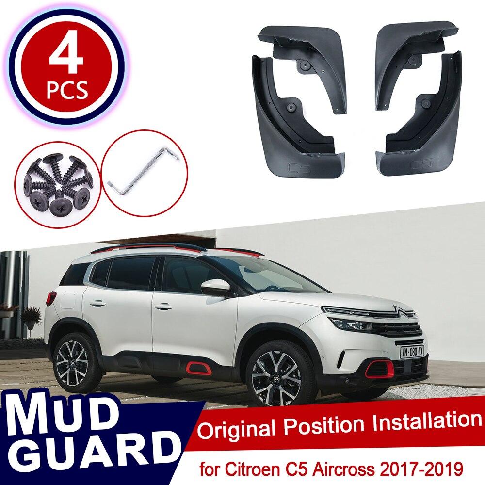 FOR Chevrolet Trax Tracker 2017-2018 4PCS car Mudguards mudflaps fenders splash