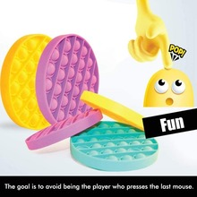 Silicone Push Pop Pop Bubble Sensory Fidget Toy Fidget Spinners for Kids Adults Anxiety Relief Toys UpdateClassic Sensory Fidget Toys Stress Reliever Toys