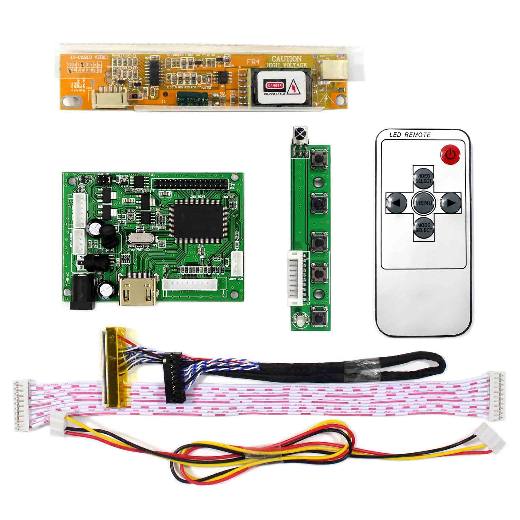 Latumab Control Board Monitor Kit  LTN154X3-L01 N154I2 B154EW08 N154I3-L02 HDMI + VGA LCD LED Controller Board Driver