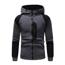 CYXZFTROFL New Autumn And Winter Mens High-quality Color Long-sleeved Trend Hoodie Brand Sweatshirt