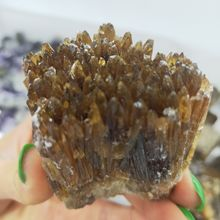 Натуральный желтый кальцит необработанный камень драгоценный камень в коллекцию грубый камень минеральный образцы Исцеление домашний декор