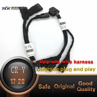 YCK Car Headlight Modification upgrade Transfer Wiring Adapter Harness Cable For Honda 2020 2017 CRV without turn assist lamp