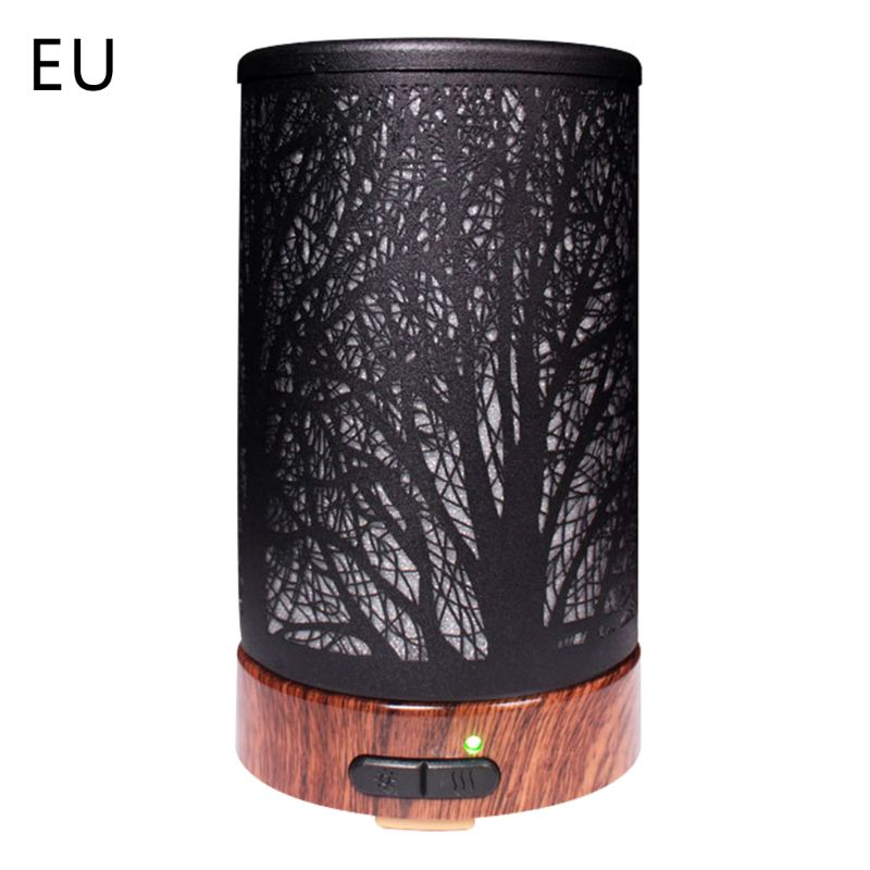 7 LED Color Changing Light Electric Ultrasonic Aroma Humidifier Essential Oil Diffuser 100ml For Home Office Use