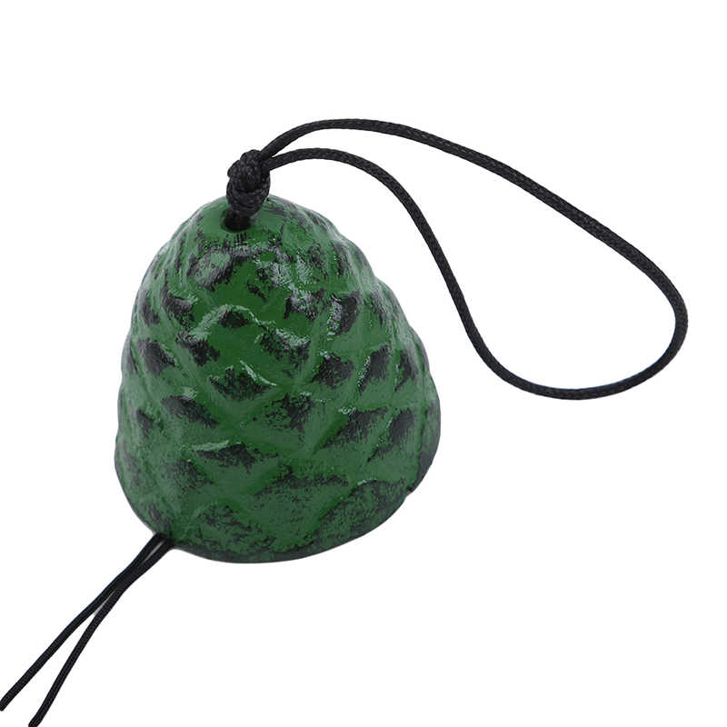 Temple Bell Pendant Japanese Lucky Feng Shui Small Wind Chime Sound Clapper Home Garden Outdoor Decor Gift Cast Iron Outdoor