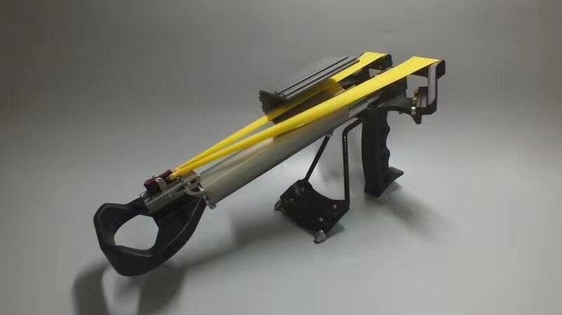 con Sfera dAcciaio HAOXUAN 3psc Slingshot Cup per la Caccia Mini Slingshot Outdoor Tool Portable autodifesa Arma Fionda Professionale Round Slingshot