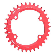 Single 1 Speed System Narrow Wide Chainring 104 BCD ROUND 32T 34T 36T 38T For MTB 11s 10s 9s 1*11 Crankset Chainwheel Ring(China)