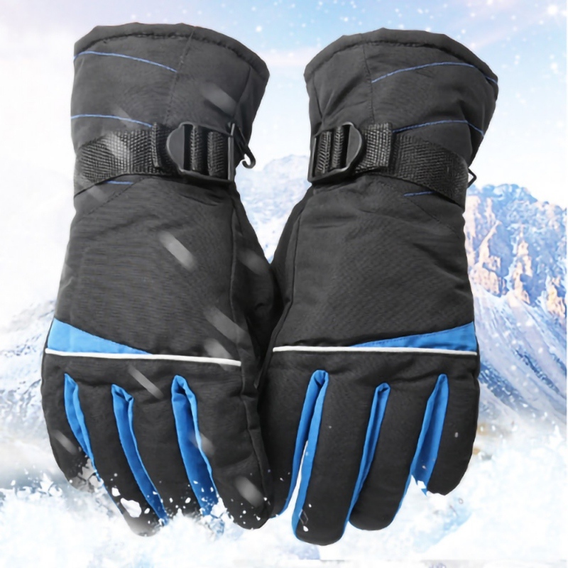 Men/Women Ski Gloves Snowboard Gloves Anti-slip Waterproof Snow Warm Fleece Motorcycle Snowmobile Riding Gloves