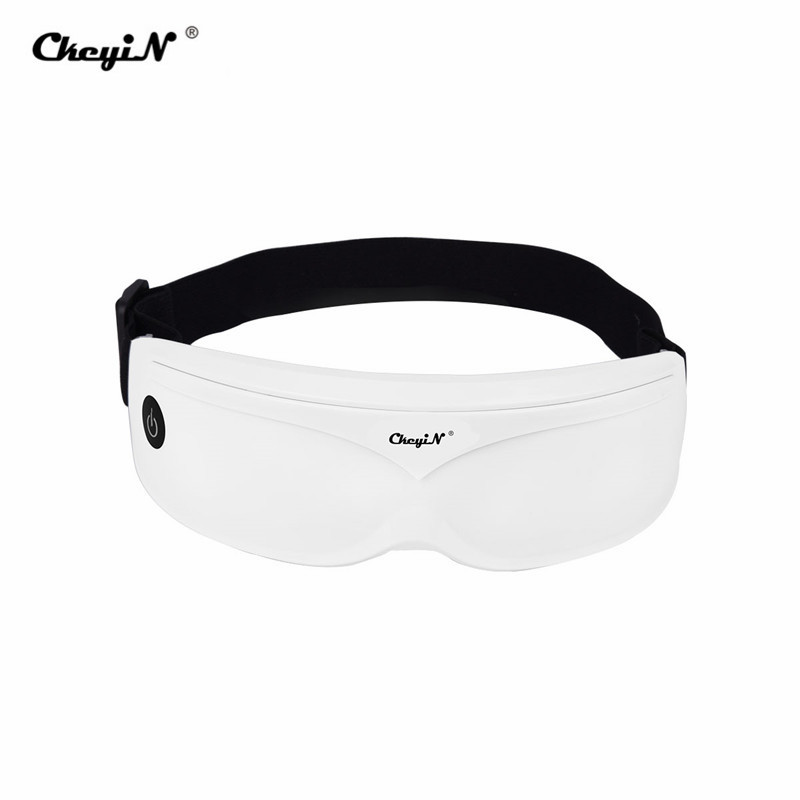 Electric Vibration Eye Massager Eyes Care Device Wrinkle Fatigue Relieve Magnet Therapy Acupuncture Massage Glasses Eyewear