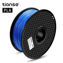 TIANSE 3D Printer 1KG 1.75mm PLA Filament Printing Materials Colorful For Extruder Pen Rainbow Plastic Accessories