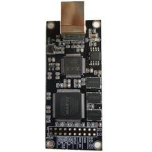XMOS CPLD interfaccia digitale USB Xu208 modulo I2S SPDIF uscita DSD256 scheda di decodifica compatibile con Amanero italiano per DAC