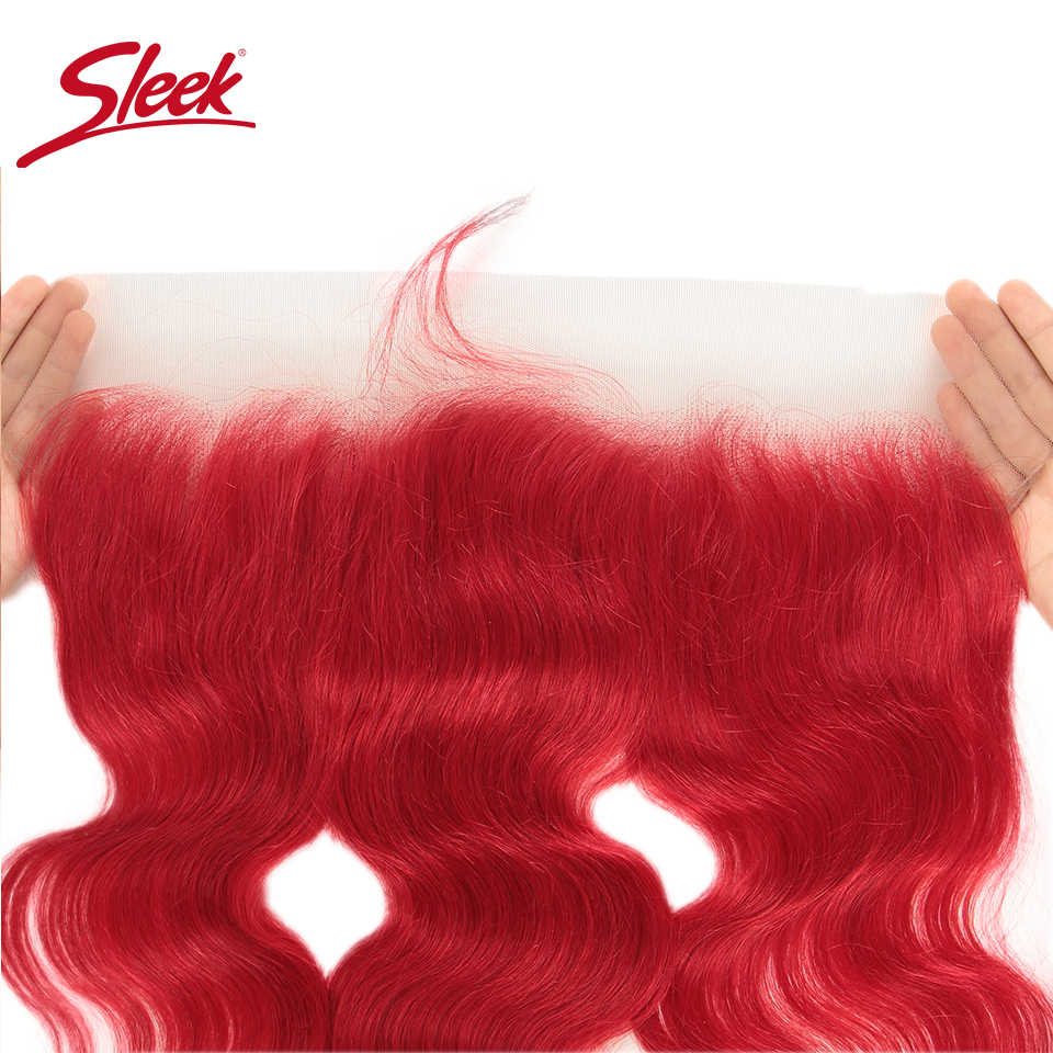 أنيق المنك شقراء اللون الأحمر البرازيلي الجسم موجة حزم مع أمامي ريمي نسج على شكل شعر إنسان Bunldes الشعر التمديد شحن مجاني