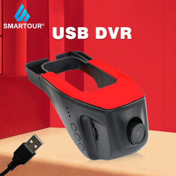 Smartour Car Cam Dash Video Recorder Night Vision kamera Auto Cars USB DVR ADAS Para Auto Multimedia Driving Recorder Camera image