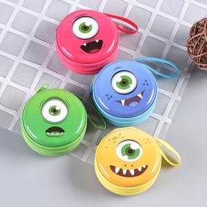Cartoon Little Monster Coin Purse Animals Girls Plush Mini Wallet Change Wallet Women Key Coin Children Kids Gift