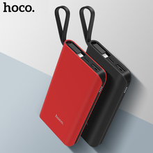 HOCO Power Bank 10000mAh Portable Fast Charging Cable Micro