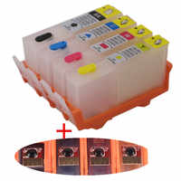 Refill For HP 903 904 905 refillable ink cartridge with ARC chip FOR HP OfficeJet pro 6950 6951 6954 6956 Pro 6960 6970 printer