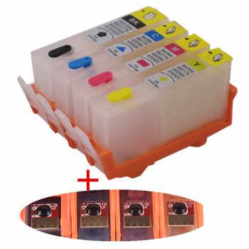 Ricarica per HP 903 904 905 cartuccia di inchiostro ricaricabile chip permanente per stampante HP OfficeJet pro 6950 6951 6954 6956 Pro 6960 6970