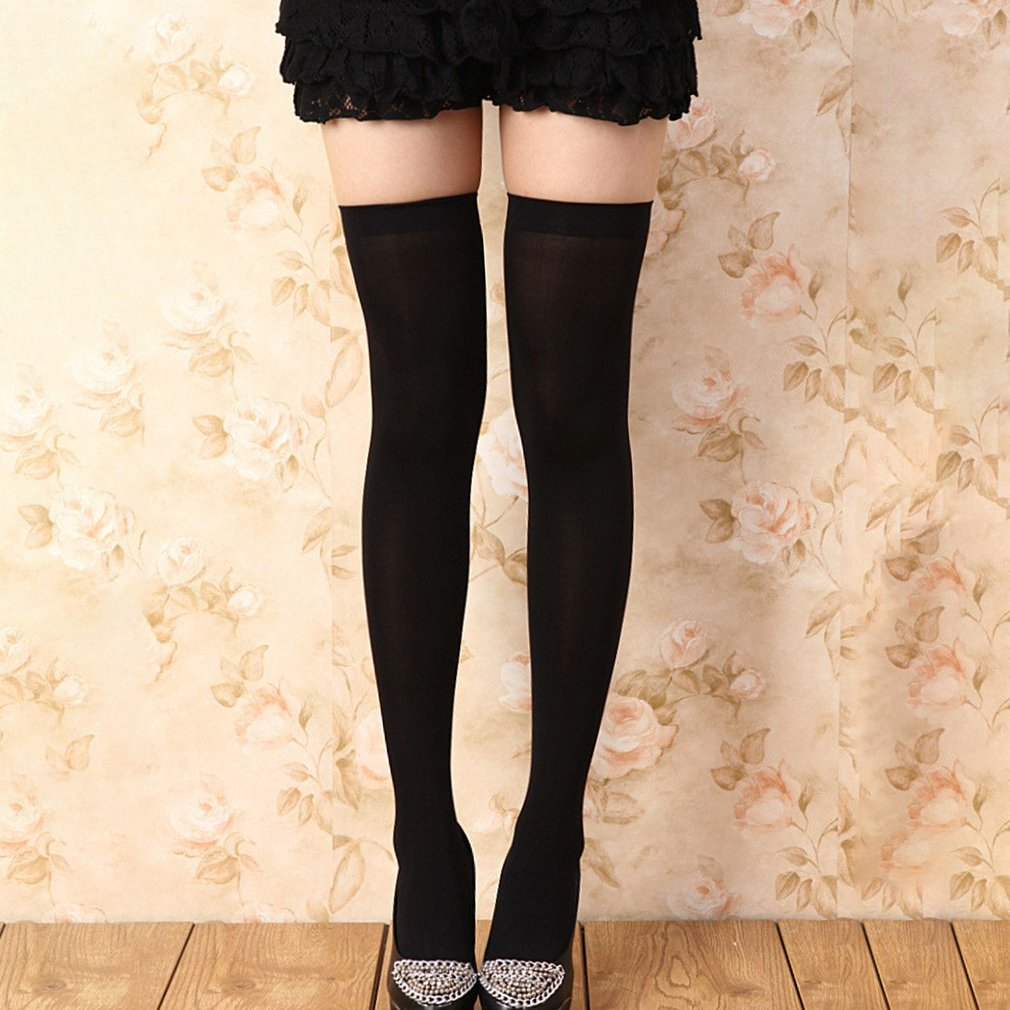 OUTAD Autumn Winter Candy Color Children Tights Stockings For Girls Kids Pantyhose Dance Tights Over Knee Socks New Sale