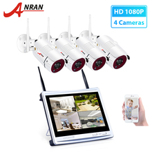 Anran 8CH Video Surveillance Camera Systeem 1080P Hd Ip Camera Outdoor Nachtzicht Cctv Wireless Security Camera System