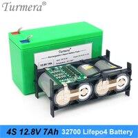 Paquete de baterías Turmera 32700 Lifepo4 4S1P 12 8 V 7Ah con 4S BMS equilibrado de 40 a para barco eléctrico y fuente de alimentación ininterrumpida de 12V|Paquetes de baterías|   -