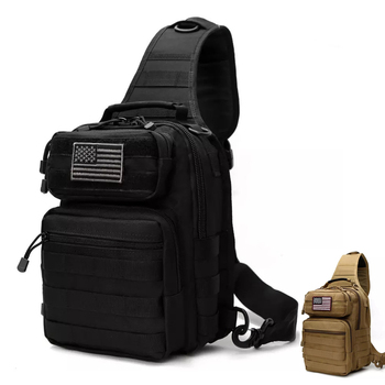 Tactical Army Chest Bag Waterproof Men Fanny Pack Utility EDC Bag Molle Military Shoulder Bag Outdoor Hunting Camping Backpack outdoor military tactical shoulder bag with usb charging chest bag wear resistant travel camping backpack cycling