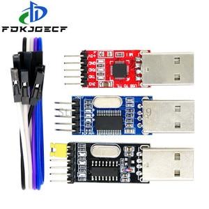 3 шт. /лот = 1 шт. PL2303HX + 1 шт. CP2102 + 1 шт. CH340G USB в TTL для arduino PL2303 CP2102 5PIN USB в UART TTL модуль